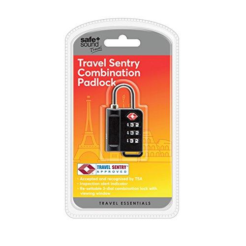 Safe & Sound Gepäckschloss, Farblich sortiert - SA6033