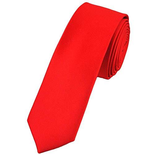 Osking ties Men's Satin Plain Tie (Free Size)