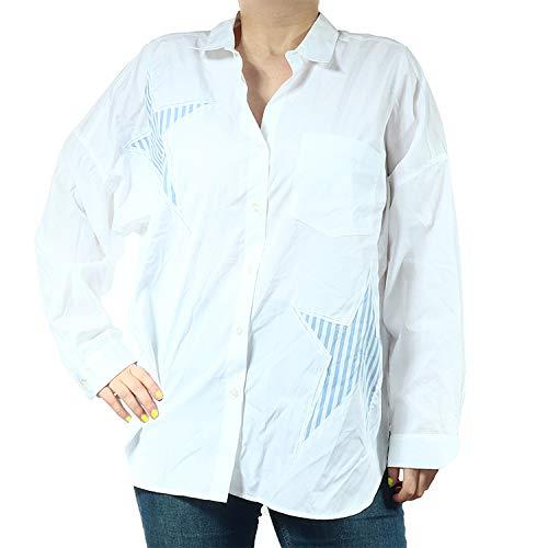 Malvin Damen Hemd 8121 Weiß Baumwolle 1999674 (Weiß, 42)