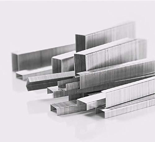 Staples 26/8 Grapas en forma de puerta Clavos estándar de metal universales para máquinas grapadoras de servicio pesado (1 caja, 1000PCS / Box)