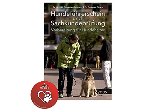 Kynos Hundeführerschein und Sachkundeprüfung: Vorbereitung für Hundehalter Broschiert + Hunde-Sticker