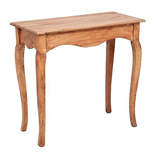LEBENSwohnART Konsole JACAPO Rustic-Teak Mahagoni Konsolentisch Flurtisch Tisch Schreibtisch
