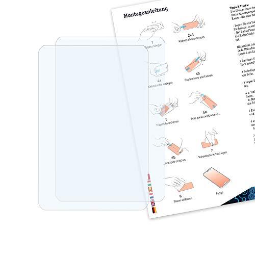 Bruni Schutzfolie kompatibel mit RugGear RG910 Folie, glasklare Displayschutzfolie (2X)