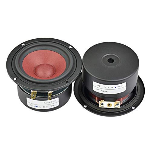 WNJ-TOOL, 2 stücke 3 Zoll 20W Full Range Mini Audio-Lautsprecher 4Ohm / 8Ohm HiFi-Lautsprecher für TV-Computer-Desktop Bluetooth-Audio-DIY (Farbe : Weiß)