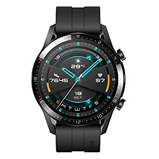 HUAWEI Watch GT 2, 2 Week Battery Life, 15 Workout Modes & Full-time Fitness Trainer, 46mm with an additional strap in box - Matte Black (B07XH9KHLR) | Amazon price tracker / tracking, Amazon price history charts, Amazon price watches, Amazon price drop alerts