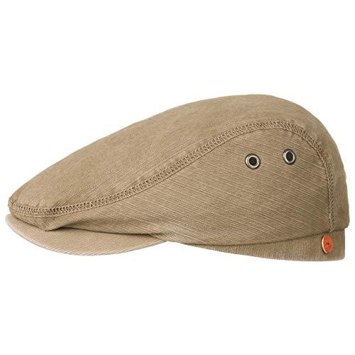 Menowin Sun Protect Schirmmütze Schiebermütze Flatcap Mayser Baumwollcap Schiebermütze (56 cm - beige)