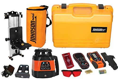 Johnson Level & Tool Electronic Self-Leveling Horizontal & Vertical Rotary Laser Kit (40-6534)