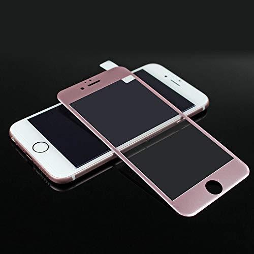 Wwjwf Vidrio Templado 3D, para iPhone 7 8 6 6S Plus, Protectores De Pantalla del Teléfono