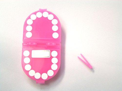 nomnom(ノムノム)乳歯ケース【乳歯のお部屋2】ピンク
