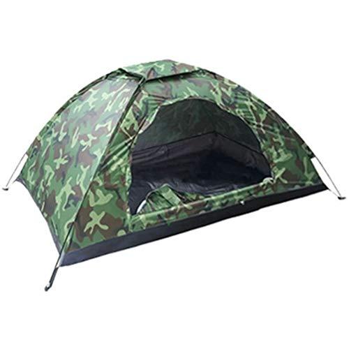 Hbao Tienda de campaña para Acampar al Aire Libre portátil para 1 Persona Senderismo al Aire Libre Camuflaje de Viaje Tienda de campaña para Dormir
