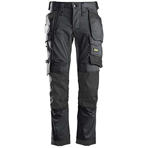 Snickers Workwear Unisex Pants, Schwarz, 54