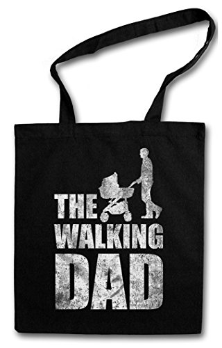 THE WALKING DAD HIPSTER BAG – padre Father's Day Present Dead Fun Best Dad Daughter Son Baby Buggy Stroller Carriage