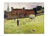 The Poster Corp Paul Gauguin – Heuernte in der Bretagne