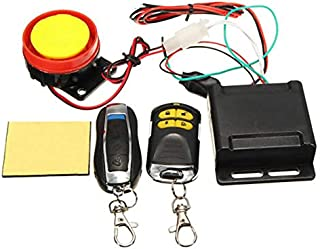 Leaftree Auto Anti-Theft Alarm Universal Portable Car Anti-Theft Alarm Security System Motorcycle Remote Control