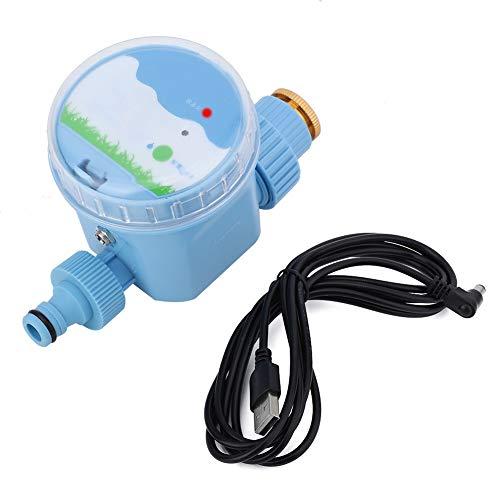 Solomi Dispositivo di irrigazione, ABS Automatico Giardino Irrigazione Timer Fiori d'innaffiatura con Wi-Fi Samrt Remote Control - Irrigazione Timer