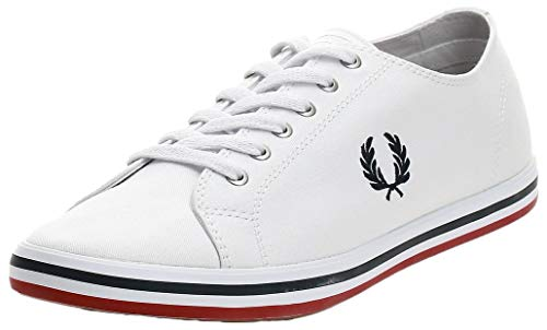 Fred Perry Kingston Twill B7259100, Scarpe Sportive - 46 EU
