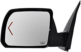Power Heated Signal Side View Mirror w/Chrome Cap Driver Left LH for Tundra