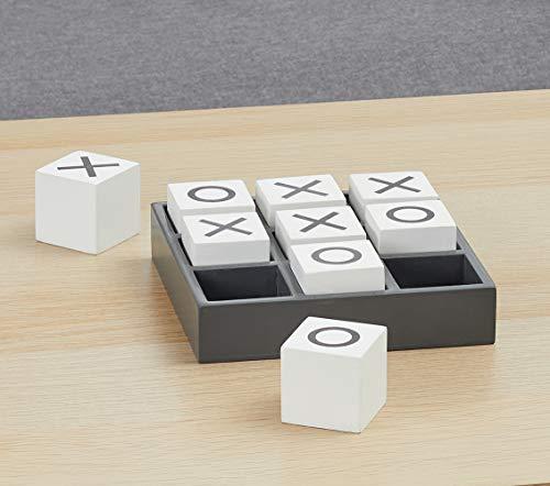 Cepewa Tic Tac Toe 3 Gewinnt Strategiespiel Brettspiel Lernspiel Gesellschaftsspiel 15,5 x 15,5 cm