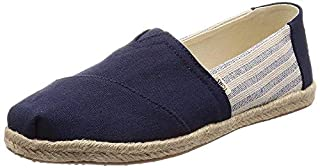 TOMS Women's Classic Canvas Slip-On Shoe Navy Ivy League Stripes on Rope 6 (B07FVY92CF) | Amazon price tracker / tracking, Amazon price history charts, Amazon price watches, Amazon price drop alerts