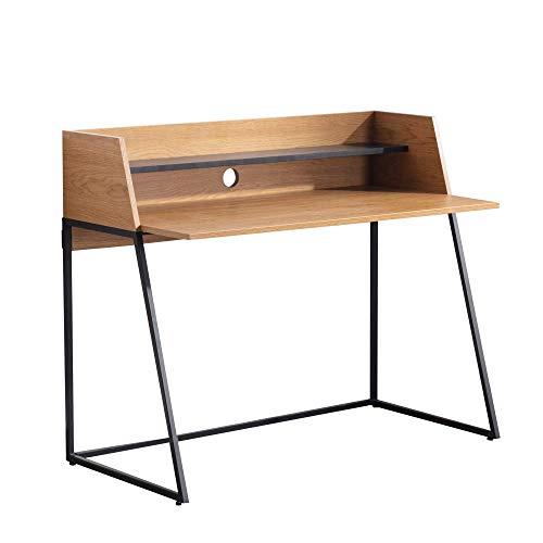 Amazon Marke - Movian Kyyvesi, Schreibtisch mit Eichenholz-Finish, 120 x 62 x 89 cm