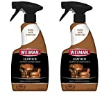 Weiman Leather Cleaner & Conditioner, 16 fl oz (Pack of 2)