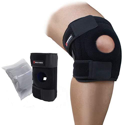 NeoCarbon Rodillera Ortopédica. Estabilizador Ajustable de Rodilla