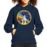 Nasa STS 27 Atlantis Mission Badge Kid's Hooded Sweatshirt