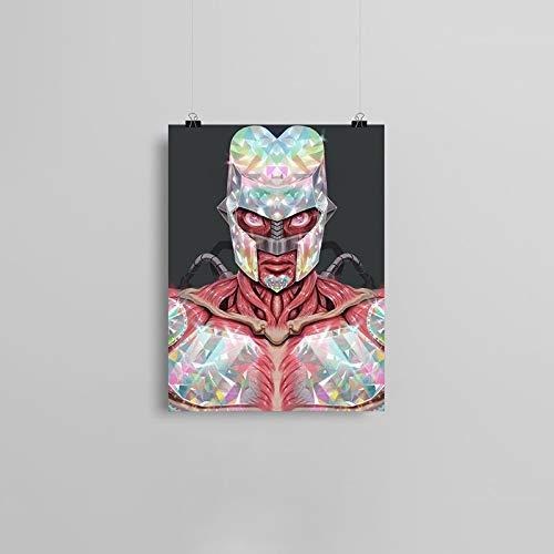 PLjVU Cartel Loco Aventura Lienzo póster Pintura Arte de la Pared decoración Sala de Estar Dormitorio Estudio decoración del hogar Impresiones-Sin marco30x40cm