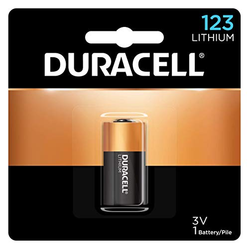 Duracell Ultra High-Power Lithium Battery, 123, 3V, Sold as 1 Each