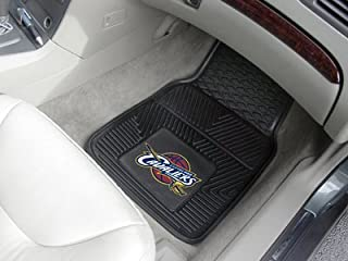 A Set of 2 NBA Universal Fit Front All-Weather Floor Mats - Cleveland Cavaliers