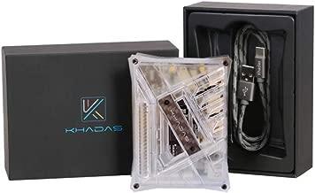 Khadas VIM2 Pro Single Board Computer with RSDB Function/Programble MCU/Wake on LAN + DIY Case