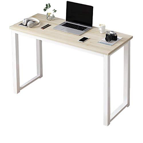 Madeinely Escritorio de escritorio para computadora de escritorio grande, mesa de escritura, escritorio de estudio, oficina, muebles para el hogar, PC portátil, estación de trabajo, mesa de oficina