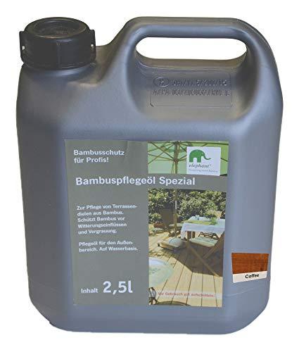 "elephant Bambus-Pflegeöl \""Spezial\"", für CoBAM-Terrassendielen, coffee, 2,5 L"