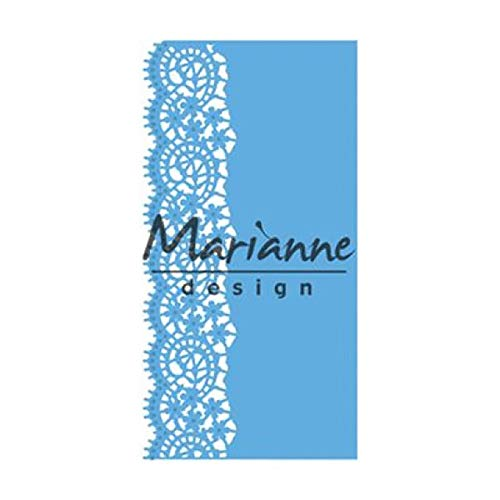 Marianne Design Lace Border creatables Plantillas de Corte y Embossing, Borde de...