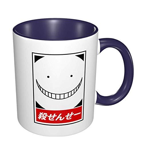 IUBBKI Assassination Classroom Korosensei Anime 3D Pattern Ceramic Coffee Mugs