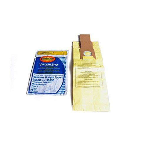 Kenmore 5068 Type U Envirocare Upright Vacuum 3 Paper Bags # 159