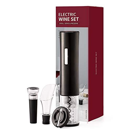 SATOHA Sacacorchos eléctrico 4 en 1, Incluye abridor de Vino automático, tapón...