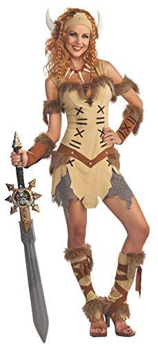 Rubies Officielle pour Femme Viking Princesse Adulte Costume – Standard