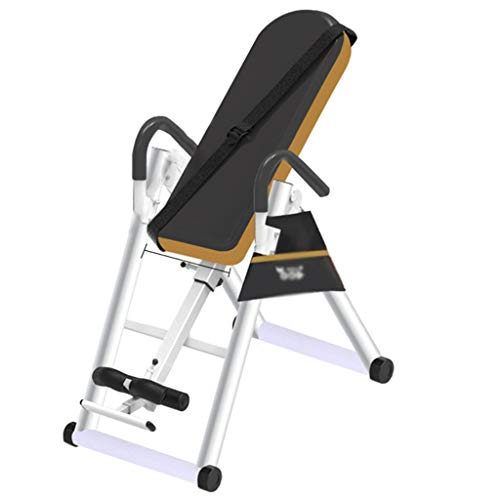 Inversion Table for Back Pain, Heavy Duty Inversion Table, Back Inversion Chair with 180 Degree Full Inversion Heavy Duty Up to 220 Lbs, for Home Exercise, Foldable Inversion Therapy Table