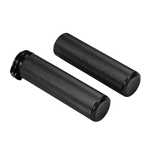 Motorcycle 1' Handlebar Grip Handgrips Fit for Harley Touring Sporster Dyna Softail V-Rod 1 Pair
