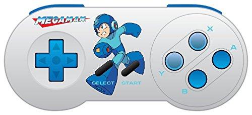 Retro-Bit Mega Man SNES & USB Dual Link Controller for PC, Mac - Super NES