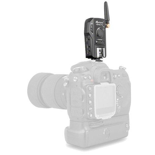 Aputure Trigmaster Plus 2.4G - Disparador Remoto y de Flash para Nikon D5100/D7000/D3100/D90