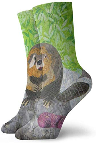 Calcetines Casuales Beaver Animal Printed Sport Athletic Calcetines Calcetines de compresión Calcetines de...