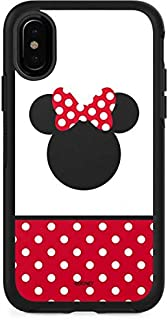 Skinit Decal Skin for Otterbox Symmetry iPhone X/XS - Officially Licensed Disney Minnie Mouse Symbol Design