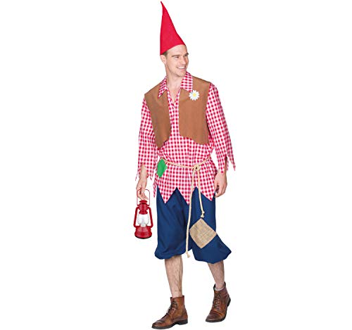 Rubie's Herren Kostüm Zwerg Wichtel Zipfelmütz Märchen Fasching Karneval (54)