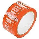 ヘッズ 梱包テープ 取り扱い注意 50mm幅×50m巻 HEADS TT-PL1