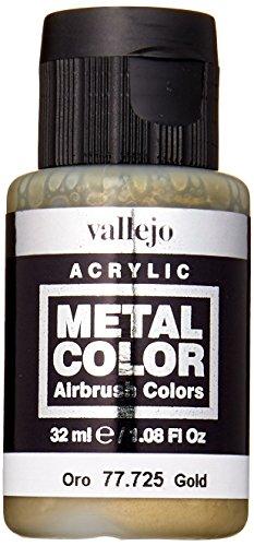 Acrylicos Vallejo VJ77725 32 ml metallfärg – guld