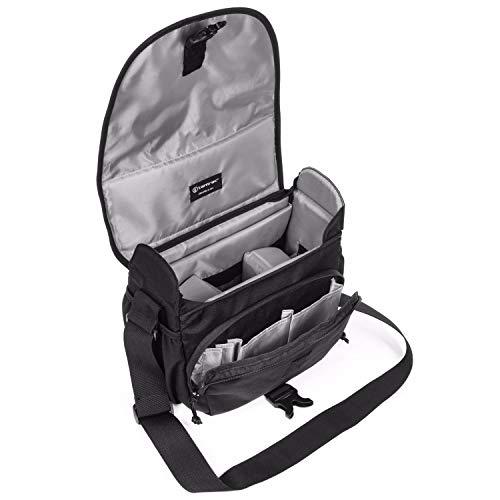 【国内正規品】 tamrac カメラバッグ ラリー 5 v2.0 カメラショルダー ブラック 小型一眼/ミラーレス収納 5.0L T2445-1915