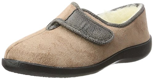 Fargeot Damen Totie Pantoffeln, Beige (Beige 7510360), 38 EU