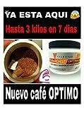 Café Adelgazante Tueste Oscuro, Valentus. SlimRoast Optimum.